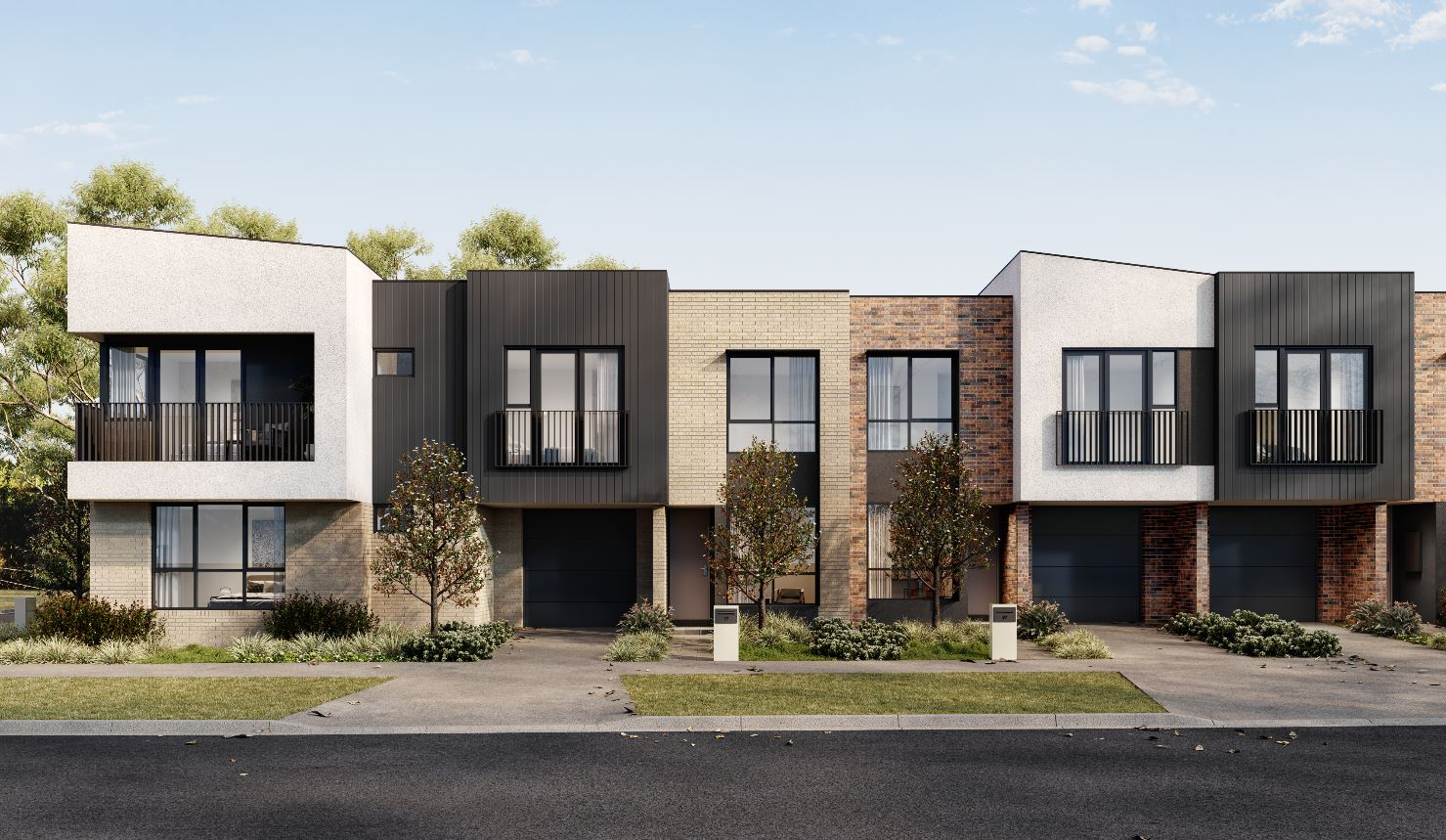 Creek fronting townhouses from $429k